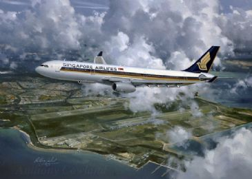 Singapore Airlines Airbus A330. SOLD